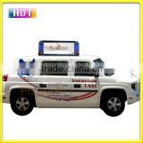 Stable quality and high brightness advertising taxi top led display with competitive price