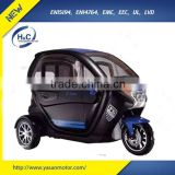 luxury 3 wheel electric scooter car enclosed mobility scooter for passenger EEC Approval