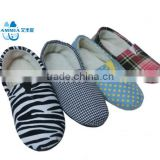 OEM Lady winter home indoor animal soft warm Customized terry shoes winter high quality warm TPR slippers