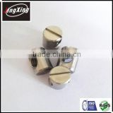good quality customized M6 stainless steel A4 slotted barrel nut