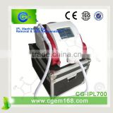 560-1200nm CG-IPL700 Desktop Fashion Home Use Ipl Laser Intense Pulsed Flash Lamp Machine For Hair Removal And Skin Rejuvenation Pigment Removal