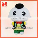 custom plush toy maker for cloth doll baby doll