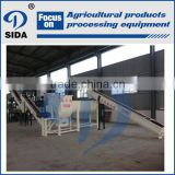 Potato starch production plant factory | cassava processing machinery equipment
