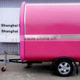 Top quality promotional mobile fast bike food cart street style food truck/mini machine food TRUCK