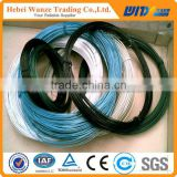 2016 Cheap PVC wire / colored PVC coated wire / Plastic coated iron wire (FACTORY MANUFACTURER)