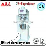 High efficiency double industrial dough mixer/ planetary mixer for glue, paint, battery industry