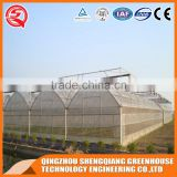 China direct plastic greenhouse/grow boxes for agriculture farming
