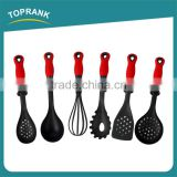6pcs kitchen utensils food grade non-stick nylon turner ladle cooking kitchen ware