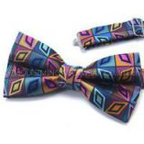 Fashion Silk Classic Paisley Striped Dots Woven America Or France Style Bowtie