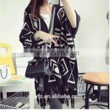 Korean loose fringed sweater bat-like shirt fashion cloak shawls women long sleeved knitwear