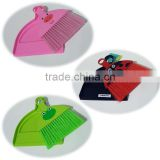 Plastic hand broom with dust pan, Mini plastic broom with dust pan