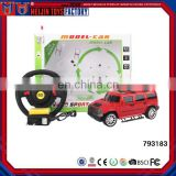 Brand model car toy 1:18 4 channel radio control car for kids