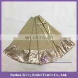 CTS033D cheap christmas tree skirts decoration christmas tree ideas diy christmas tree decoration