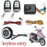 PKE Push Button Start Motorcycle Alarm M444S-A