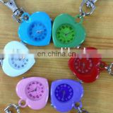 New Design Fashion style Silicone Watch with Keychain