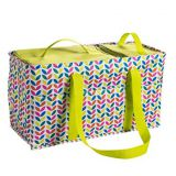 large tote bag with handles 2 zippered pocket
