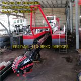 30kw Genset Power Environmental Dredging 18 Cutter Suction Dredger