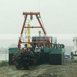 "10""Mini Sand Mud Digging Barge for Sale"