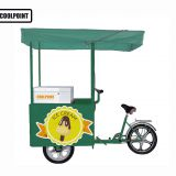 solar ice cream tricycle/bike