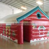 Best sale inflatable christmas party house,Christmas inflatable house,inflatable christmas house tent
