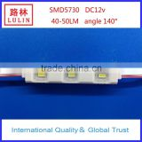 factory outlet SMD 5730/5630 module with optical lens for light box and advertising signs