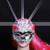New Design Ostrich feathers famous people masks party masks
