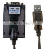 USB 2.0 to FTDI FT232RL FT232BL RS232 com Serial DB9 Converter Cable For Win7 64 Mac