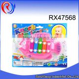 Educational kid musical instruments knock on piano toys