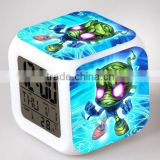 2016 NEW League of Legends Digital Alarm Clock, LOL Flashing light and sound Alarm Clock, Children multi-function Toys Clock