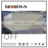 Kewei high clear Switchable glass, smart glass, turn off matte white color