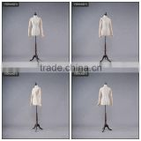 Dressmaking adjustable tailoring mannequin with wooden arm