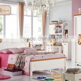 2015 Latest design Home Use Princess Style Kid Bedroom Furniture A8601 for girl