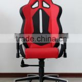AKRACING New modern black red comfortable adjustable armrest swivel PU leather furniture office chair