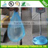 HDPE/LDPE plastic colored biodegradable garbage refuse rubbish bag