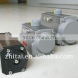 Rotary actuators,Gear Rack and pinion pneumatic actuators, Aluminium alloy or stainless steel pneumatic actuators