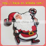 Rubber christmas snowman fridge sticker