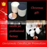 Christmas gift carrara white marble candle jars with lid                                                                         Quality Choice