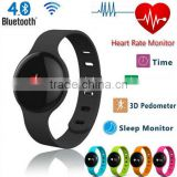 H18 Sport Bluetooth Smart Bracelet Watch Sync Call SMS Anti-lost Health Wristband Sleep Tracker bluetooth 4.0 heart rate monitor
