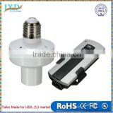 Durable E27 Screw Wireless Remote Control Light Lamp Bulb Holder Cap Socket Switch