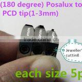 BEST pcd cnc machine cutting tools diamond tool posalux type faceting machine cutting china