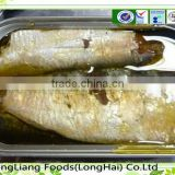 No additive raw material canned sardine in vegetable oil