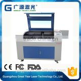 China supplier jewellery box cutting and engraving machine, CO2 laser engraving machine for wooden carved engraving