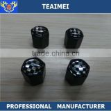 Custom auto car truck metal tyre stem chrome car tire valve cap