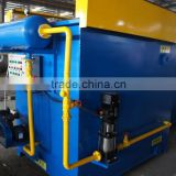 Dissolved Air Flotation unit used in municipal wastewater treatment/sewage treatment Dissolved Air Flotation unit plant