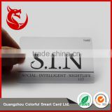 High end printing machine plastic clear transparent card                                                                                                         Supplier's Choice