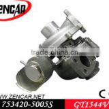 Citroen C3/C4/C5 turbo GT1544V 753420-5005S