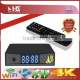 2016 year news Combo receiver DVB-S2 DVB-T2 DVB-C Combo Decoder HEVC H.265 with 4k satellite receiver
