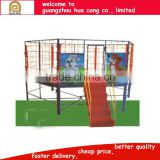 Cartoon theme small size polygon shape kids bouncer