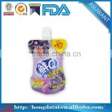 stand up fruit juice drink packaging pouch for liquids with spout                                                                         Quality Choice