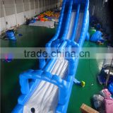 Giant inflatable water slide, inflatable wave slide for adult and children                                                                                                         Supplier's Choice